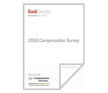 2018 Bank Executive Comp Survey